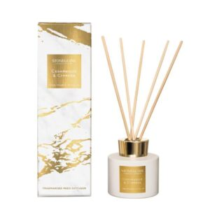 Stoneglow Luna Cedawood & Cypress Reed Diffuser