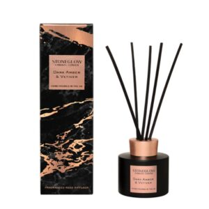 Stoneglow Luna Dark Amber & Vetiver Reed Diffuser