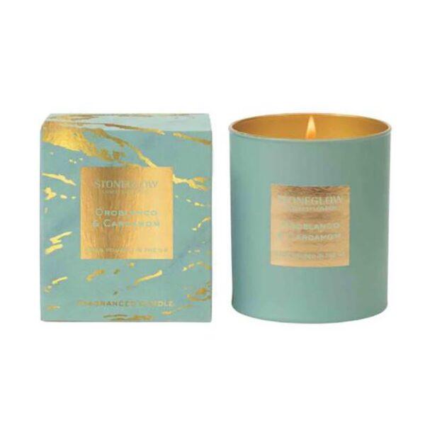 Stoneglow Luna Oroblanco & Cardamom Candle