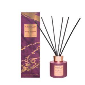 Stoneglow Luna Velvet Gardenia & Tuberose Reed Diffuser