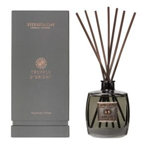 Stoneglow Metallique Collection Truffle D'Orient Reed Diffuser