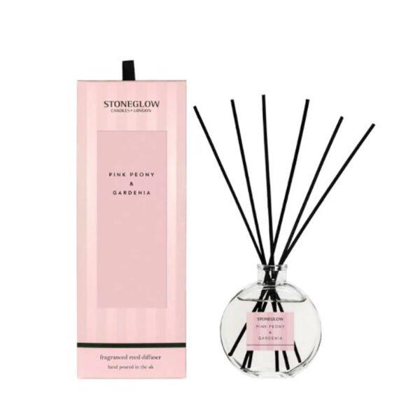 Stoneglow Modern Classics Pink Peony & Gardenia Reed Diffuser