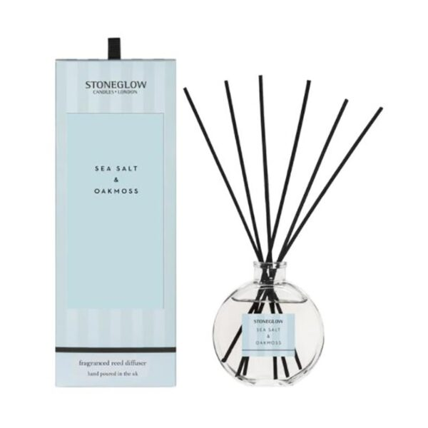 Stoneglow Modern Classics Sea Salt & Oakmoss Reed Diffuser (120ml)
