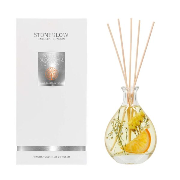 Stoneglow Natures Gift Neroli Blossom & Citron Reed Diffuser & Box