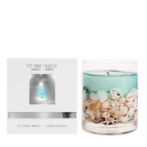 Stoneglow Natures Gift Ocean Candle