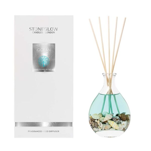 Stoneglow Natures Gift Ocean Reed Diffuser & Box
