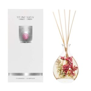 Stoneglow Natures Gift Pink Pepper Flowers Natures Gift Diffuser & Box