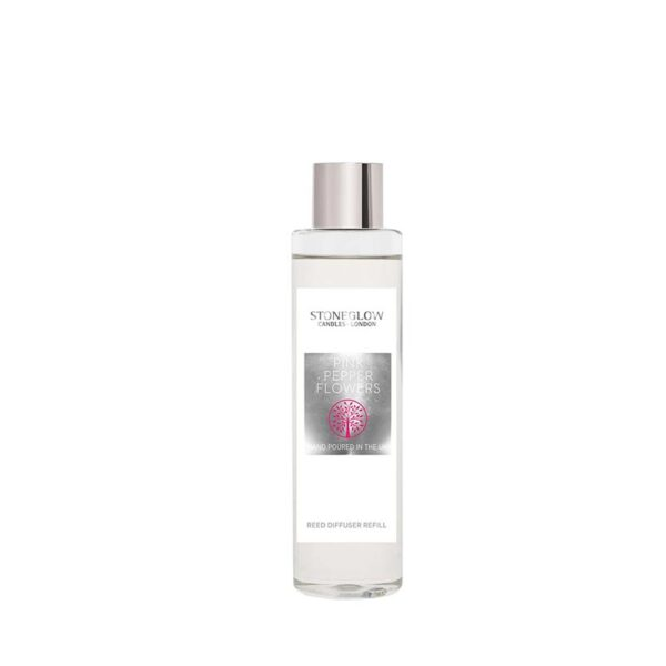 Stoneglow Natures Gift Pink Pepper Flowers Reed Diffuser Refill