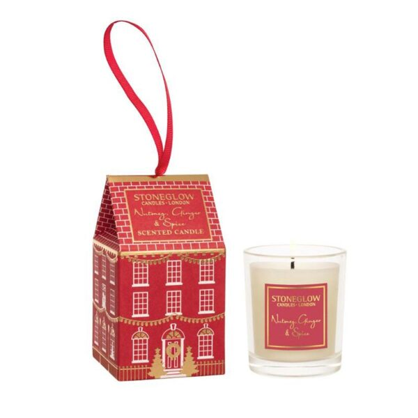 Stoneglow Nutmeg, Ginger & Spice House Votive Candle (1 wick)