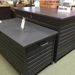 Cushion & Storage Boxes