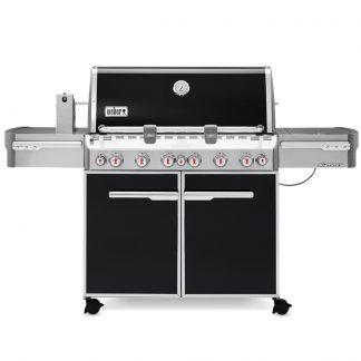 Weber Summit E-670 GBS Gas Grill Barbecue (Black)