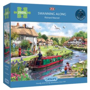 Gibsons Swanning Along 250XL Jigsaw Puzzle