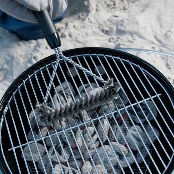 Weber Three Sided Grill Brush - 30cm