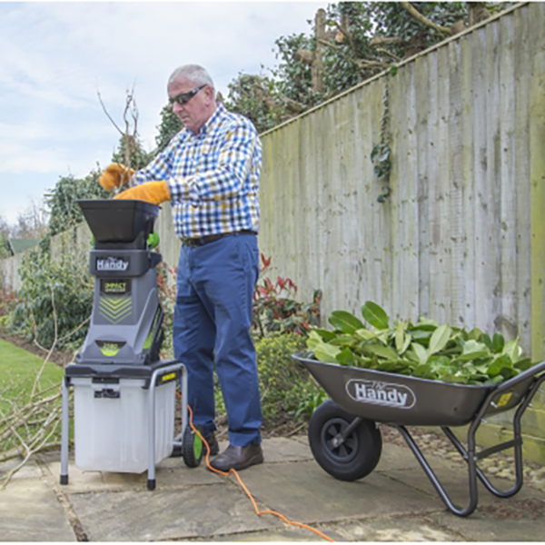 Using The Handy Electric Impact Shredder with Box & Detachable Hopper