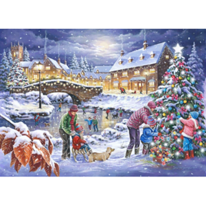 House Of Puzzles Twinkling Lights 1000 Jigsaw