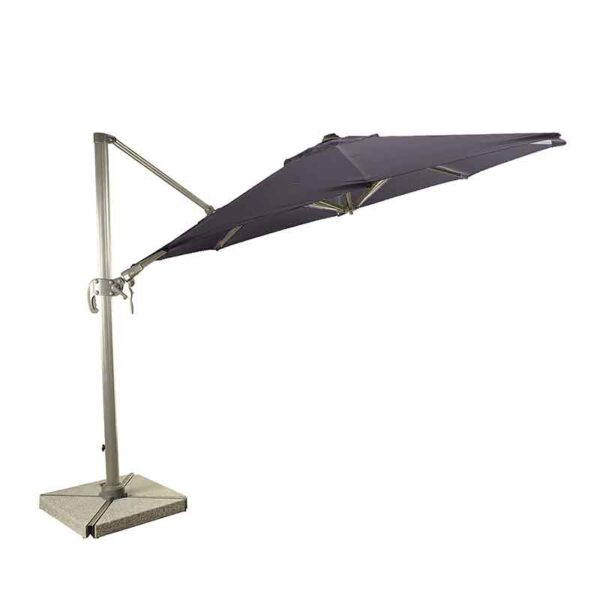 The Bramblecrest Chichester 3m Round Side Post Parasol
