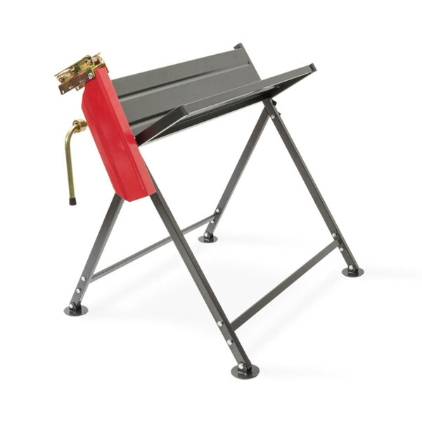 The Handy Foldable Saw Horse With Chainsaw Support down