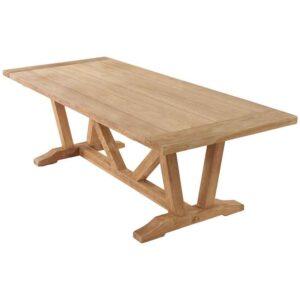 The Kuta 240 x 100cm Vintage Teak Table