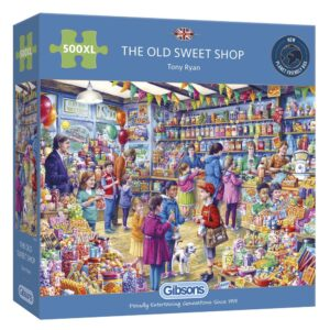 Gibsons The Old Sweet Shop 500 XL Piece Jigsaw Puzzle