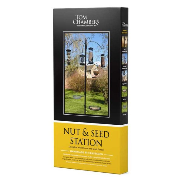 Tom Chambers Nut & Seed Bird Feeding Station pack