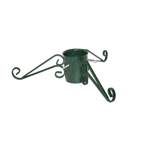 Tom Chambers Ornate Christmas Tree Stand in Green (13cm)
