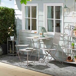 Toulouse Mosaic Bistro Set - Table with 2 Chairs