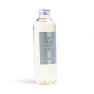Marmalade of London 200ml refill for Tuscan Lime & Basil Reed Diffuser