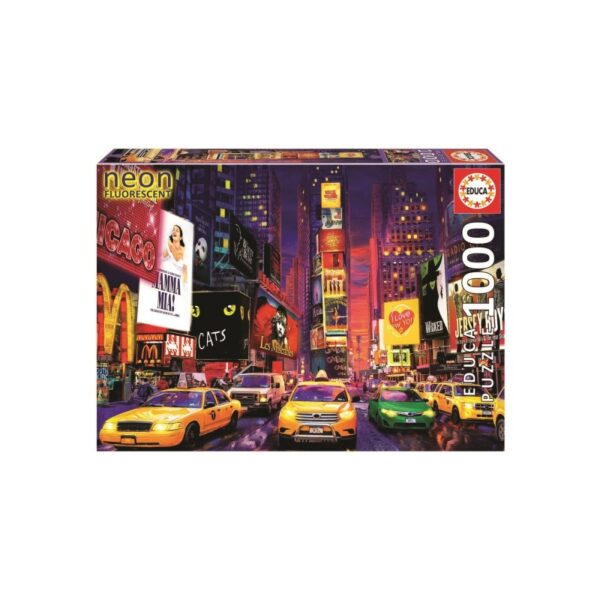 University Games educa boras times square new york 1000 piece jigsaw puzzle Box