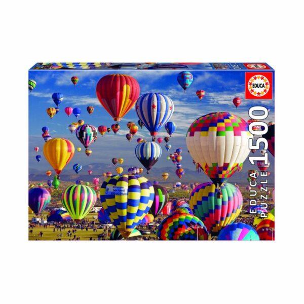 University Games educa borras hot air balloons 1500 piece jigsaw puzzle box