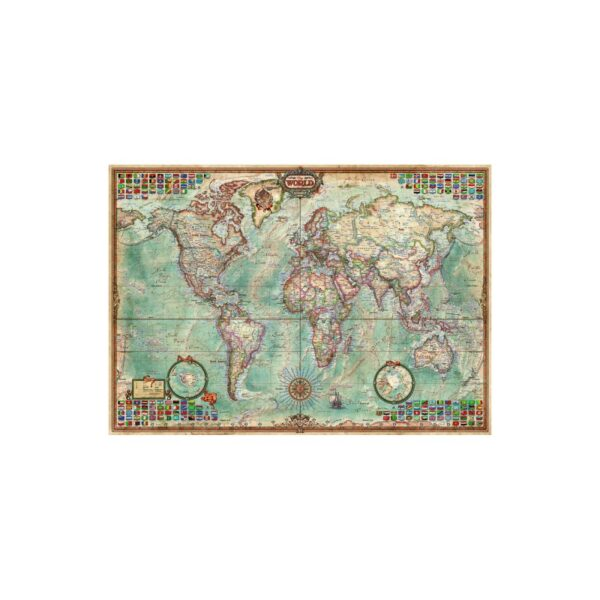 University Games educa borras world map 1500 piece jigsaw puzzle