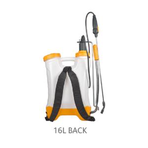 Back of Hozelock Knapsack Pressure Sprayer Plus (16 Litre)