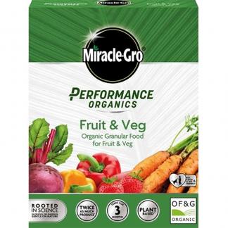 Miracle-Gro Performance Organics Fruit & Veg Granular Plant Food (1kg)