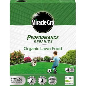 Miracle-Gro Performance Organics Lawn Food 100m² (2.7kg)