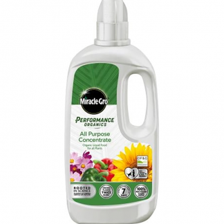 Miracle-Gro Performance Organics All Purpose Concentrated Liquid Plant Food (1 litre)