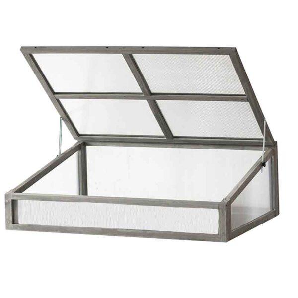 VegTrug Cold Frame Grey Wash