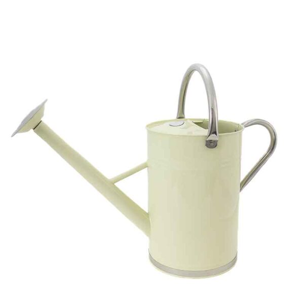 Vintage Cream Watering Can