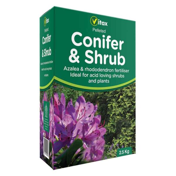 Vitax Conifer & Shrub Pelleted Fertiliser 2.5kg