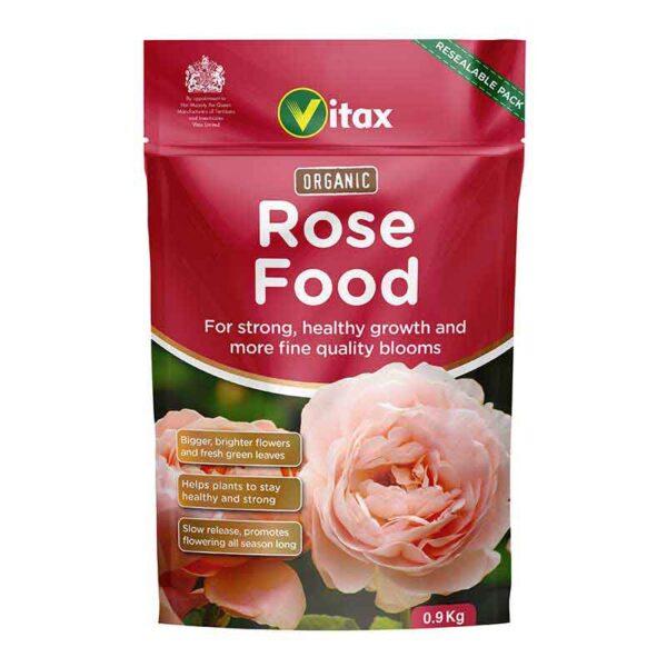 Vitax Organic Rose Food Pouch (0.9kg)