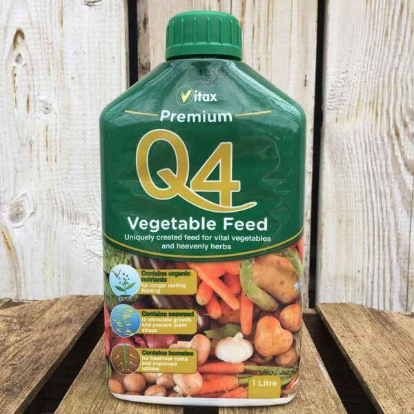 Vitax Q4 Premium Vegetable Feed (1 litre)