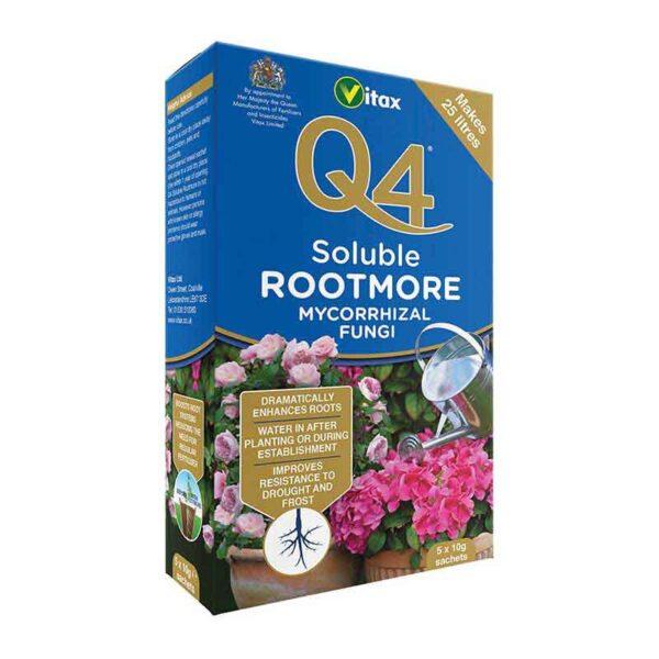 Vitax Q4 Soluble Rootmore Mycorrhizal Fungi ( 5 x 10g sachets)