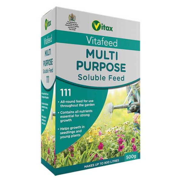 Vitax Vitafeed Multi-Purpose Soluble Feed 111 (500g)