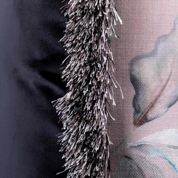 Voyage Maison Collector Blush Linen Cushion 65 x 45 Lifestyle