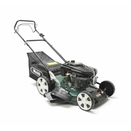 Webb Classic 51cm Self Propelled Petrol Rotary Lawn Mower