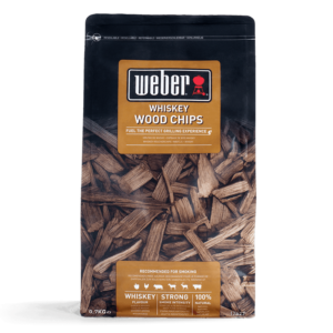 Weber Wood Chips for barbecue smoking - Whiskey (0.7kg)