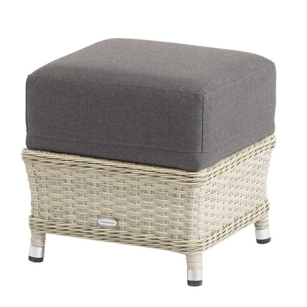 Panama dining stool with Grafito Cushions