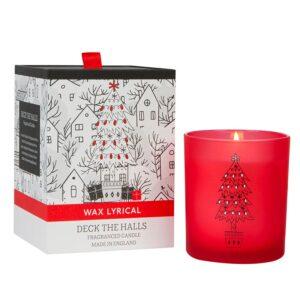 Wax Lyrical Christmas Fragranced Candle - Deck The Halls (1-Wick)