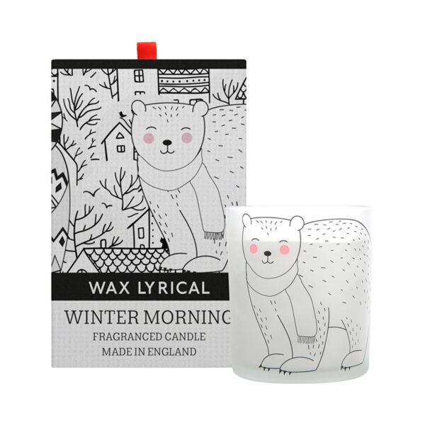 Wax Lyrical Christmas Fragranced Candle - Winter Morning (1-Wick)