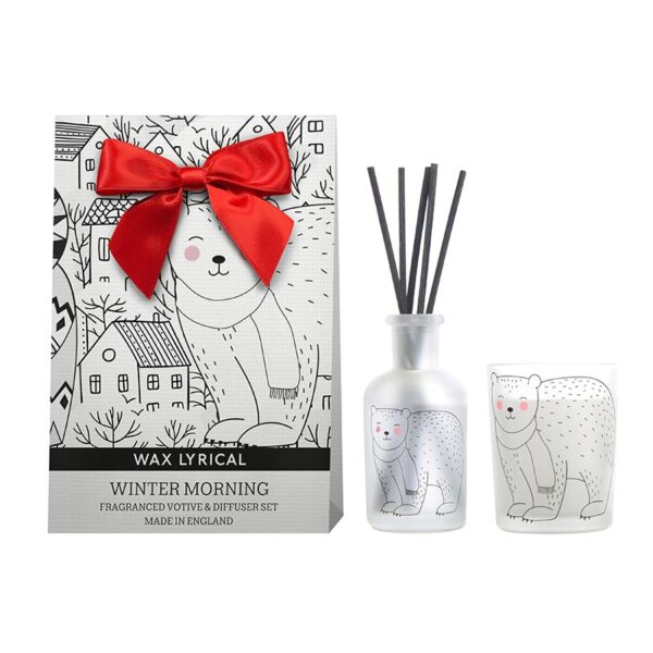 Wax Lyrical Fragranced Candle & Diffuser Set - Winter Morning