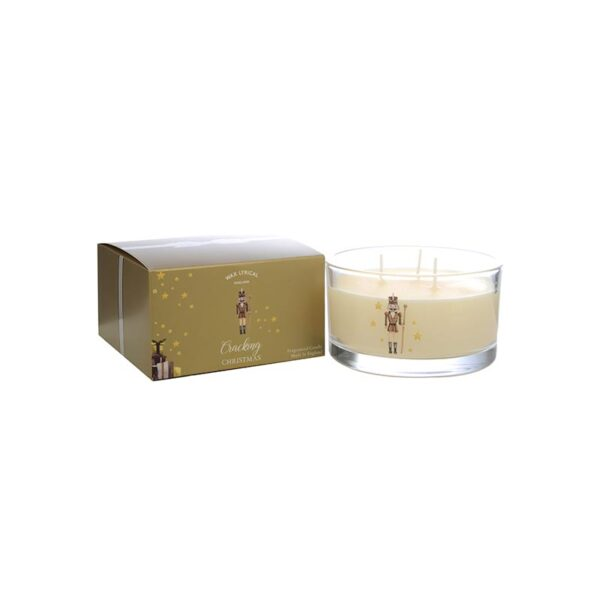 Wax Lyrical Multi Wick Fragranced Candle Cracking Christmas (3-Wicks)