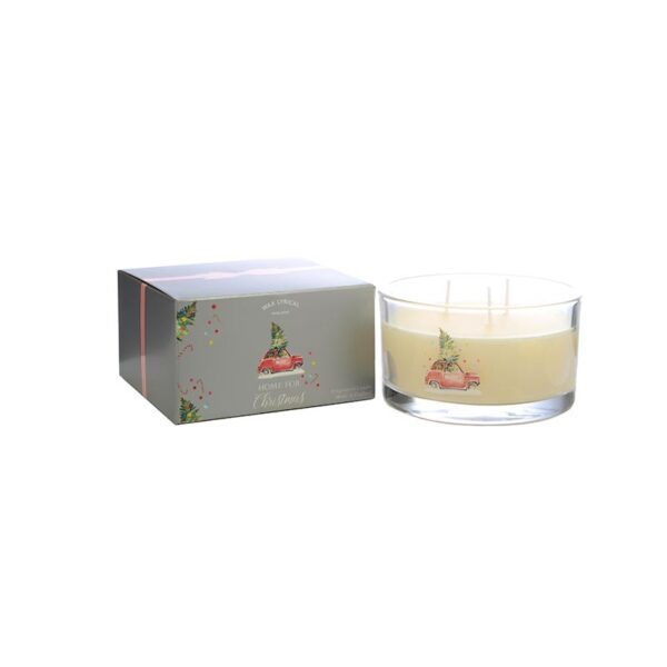 Wax Lyrical Multi Wick Fragranced Candle Home For Christmas (3-Wicks)